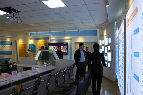 """本溪市政府米乐国际官方网办领导考察""""财源大数据""""项目"""
